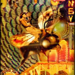 ircbeehivebuilding beehivebuilding honeycomb hexagon bee freetoedit