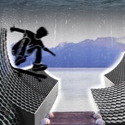 ircbeehivebuilding beehivebuilding challenge honeycomb skaterboy freetoedit