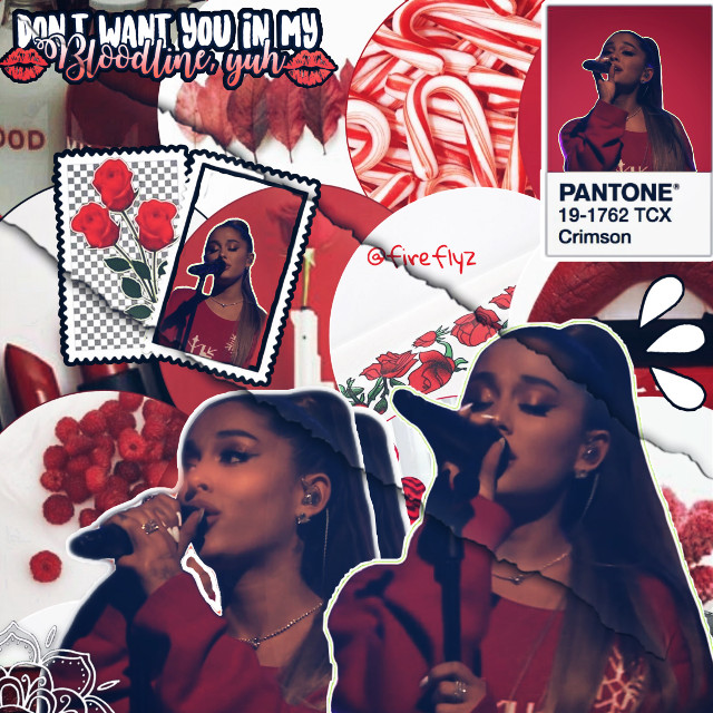 A red edit of our ariana!❤️ #arianagrande #red  #freetoedit