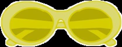 yellow sunglasses vsco freetoedit