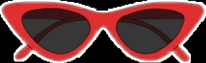 red vsco sunglasses freetoedit