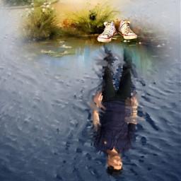 freetoedit reflection artistic art work
