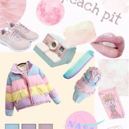 peach peachaesthetic peachpit aesthetic pastel