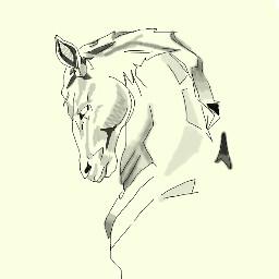 dcchess chess art horse interesting