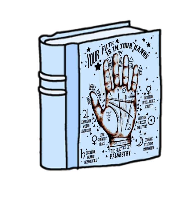 #book #psychic #palmreading #palmistry #freetoedit