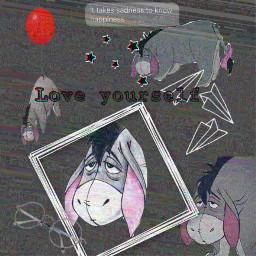 eeyore greyaesthetic sad freetoedit