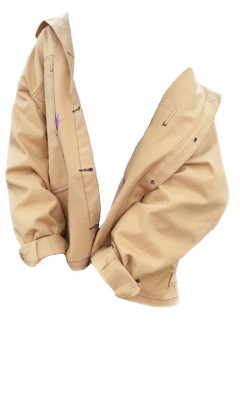 coat jacket cream beige aesthetic freetoedit