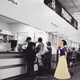 pharmacy store happy princess snowwhite