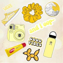 freetoedit yellow vsco