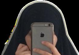 hijab moon muslim galaxia arab freetoedit