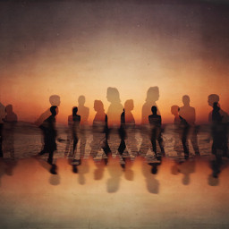 abstract photographyart mobilephotography people silhouettes