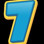 7 numero numeros number numbers freetoedit