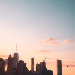 picsart remixit freetoedit city skyline