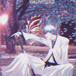 freetoedit ichigo bleach anime photoart