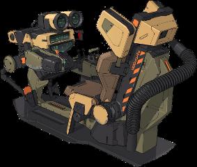 scifi future spacechair freetoedit