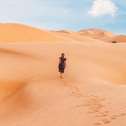 girl girls people desert sand freetoedit