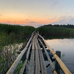 thisislatvia sunrise footpath lake earlymorning