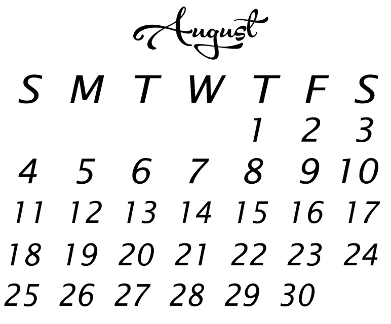 "#augustcalendar #summer #helloaugust  #myoriginaldesign #madewithpicsart #picsart @picsart   Have fun adding your own touches to this blank August calendar❤️  you can make this transparent to use like a sticker by using the ""multiply"" or ""darken"" blending modes. There is also a blank August calendar sticker with clear background up in my free public stickers. #freetoedit #remixit"