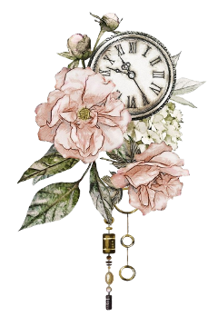 freetoedit flowers flower bouquet clock