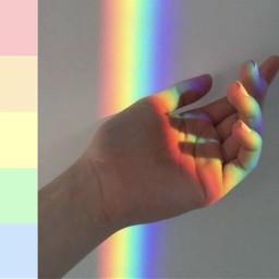 rainbow colors palette palettecolors freetoedit