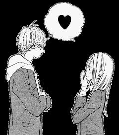 manga anime love couple freetoedit