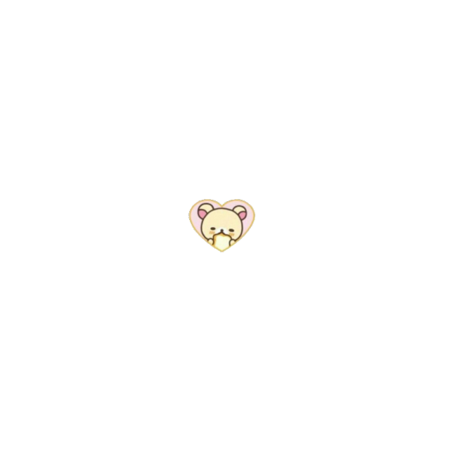 #rilakkuma #korilakkuma #beat #bread #heart #love #cute #edit #soft #softbot #freetoedit #freetoedit