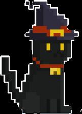 #halloween #cat #blackcat #pixel #pixelart #pixels #pixel #goth #cute #cutekitty #cuteanimals #cutepixel #black #aesthetics #dark #gothaesthetic #gothpastel #pastel #witch #witchcat #freetoedit