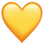 #emojis #heart #yellow 💛 #freetoedit