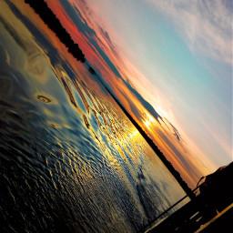 photographynature sunset sunshine boat travel