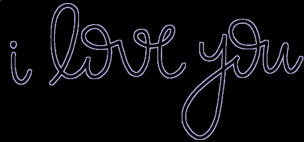 #iloveyou #love #calligraphy #cursive #freetoedit