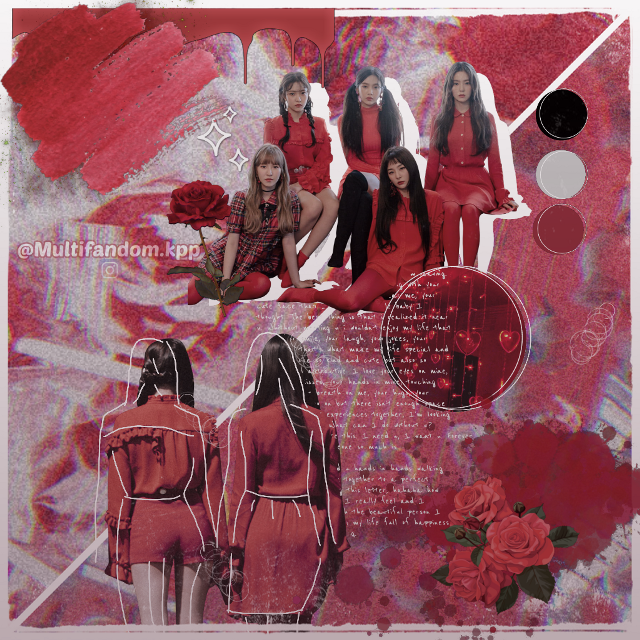 #redvelvet #roses #peekaboo #kpopedit #aesthetic #cherry #red #white #rv #reveluv #zimzalabim #badboy