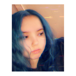 freetoedit selfies blue bluehair