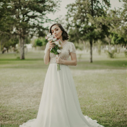 freetoedit bride photo green wedding