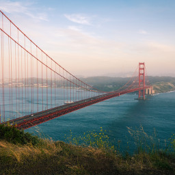 travel landmark sanfrancisco usa goldengate freetoedit
