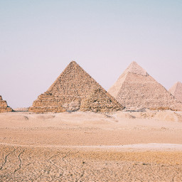 travel landmark egypt pyramids freetoedit