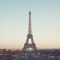 travel landmark paris france eiffeltower freetoedit