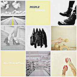yellowaesthetic yellow eighties moodboardaesthetic moodboard