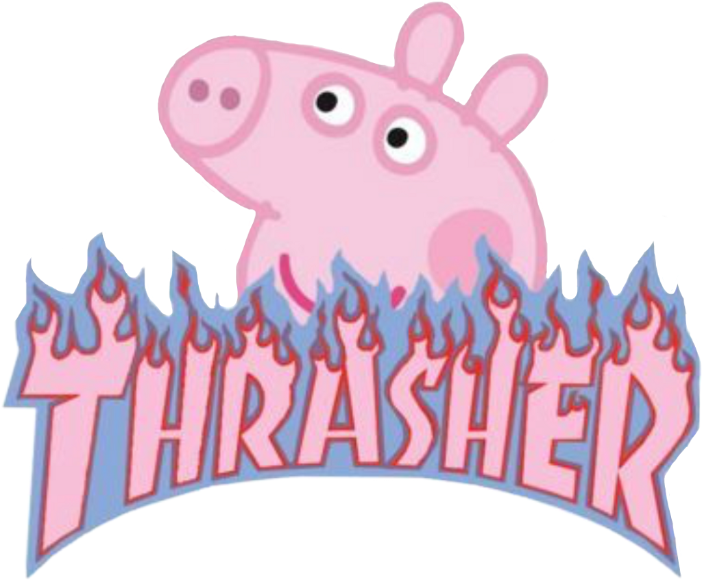 Image result for peppa pig thrasher