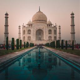 tajmahal india architecture background backgrounds freetoedit