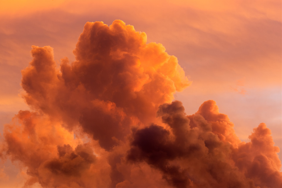 One with nature. Unsplash (Public Domain) #sky #cloud #clouds #background #backgrounds #freetoedit