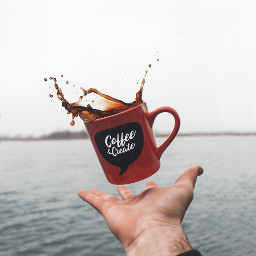 hand coffee cup mug morning freetoedit