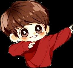 jungkook chibi cute freetoedit