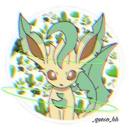 leafeon eeveelution leaf pokémon