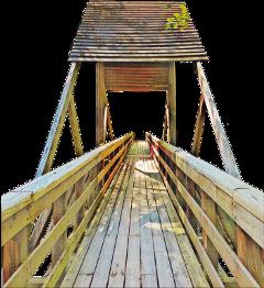 stucture lumber bridge wooden roof freetoedit