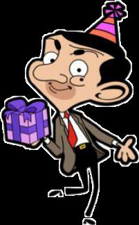 mrbean rowanatkinson gift birthday happybirthday freetoedit