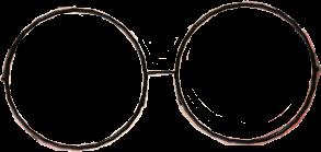 circle glasses sticker tataberryy freetoedit