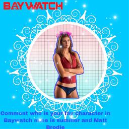 freetoedit baywatch summerquin mattbrodie