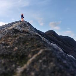 freetoedit mountainview mountain opticalillusion lady