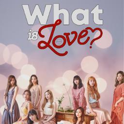 twice whatislove albumcover love freetoedit