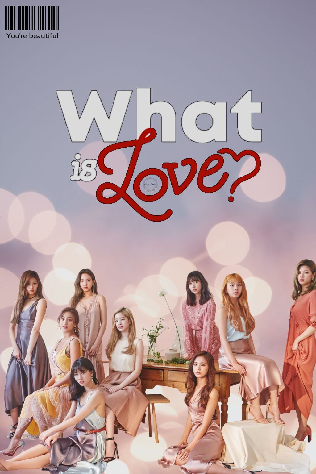 TWICE: What is Love #twice #whatislove? #albumcover #love  #freetoedit